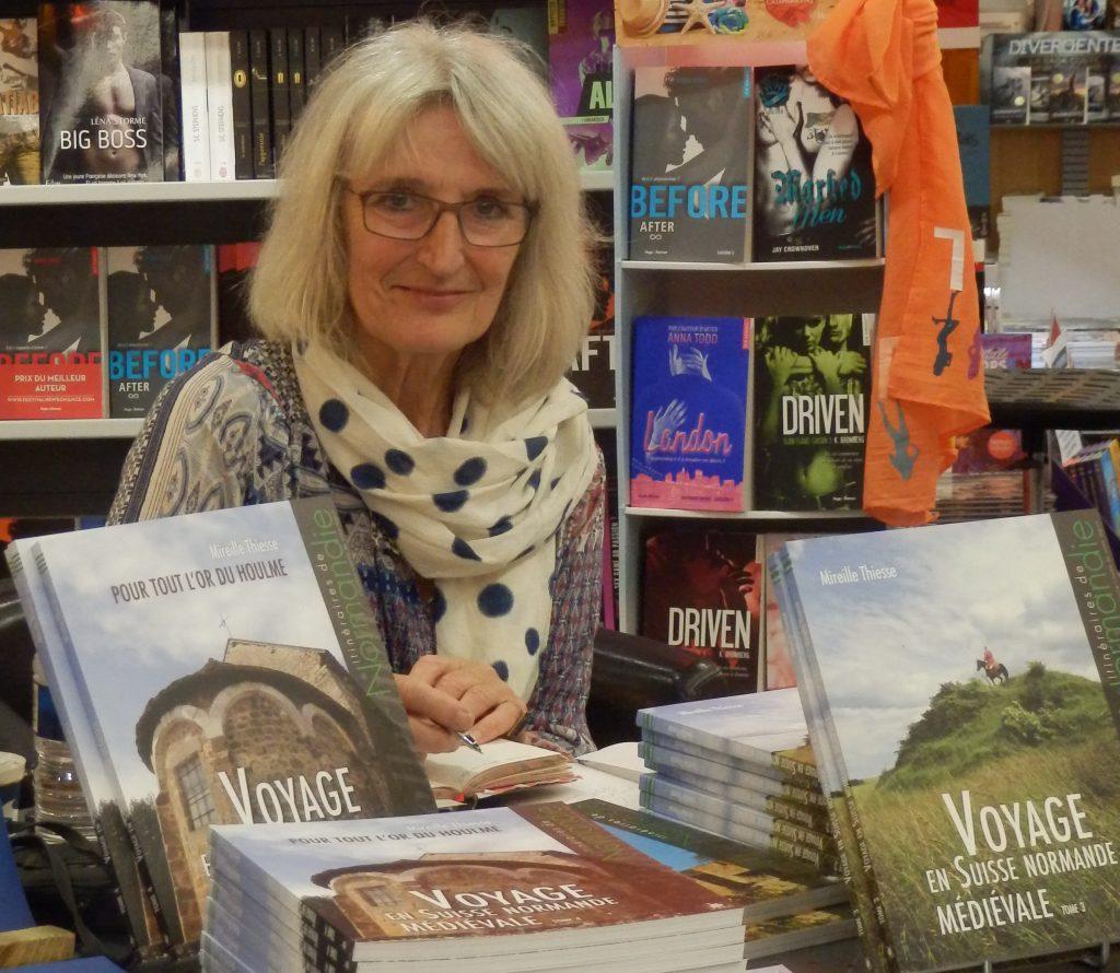 MireillE Thiesse dédicace ses livres